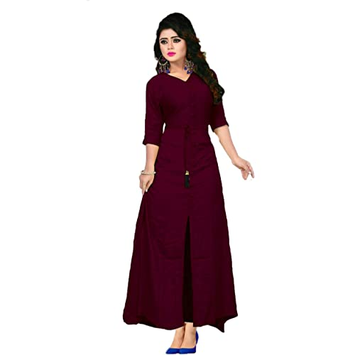 Cotton Gowns: Buy Cotton Gowns Online at Best Prices in India ...