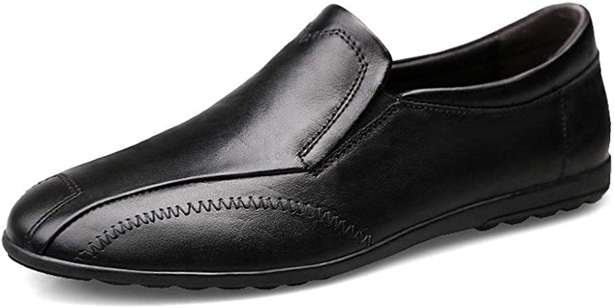 vraiment pas cher le moins cher chaussures élégantes YUNLI Hommes Classique Mocassins Flats Mocassins en Daim ...