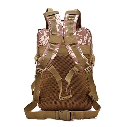 900d militare Digital Jungle 40l tracolla 3p e borsa carico Igspfbjn Desert colore a donne appassionati militari Digital tattico all'aperto Uomini pacchetto Raise gqH05d