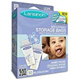 Lansinoh Breastmilk Storage Bags, 50 Count (Pack of 3)