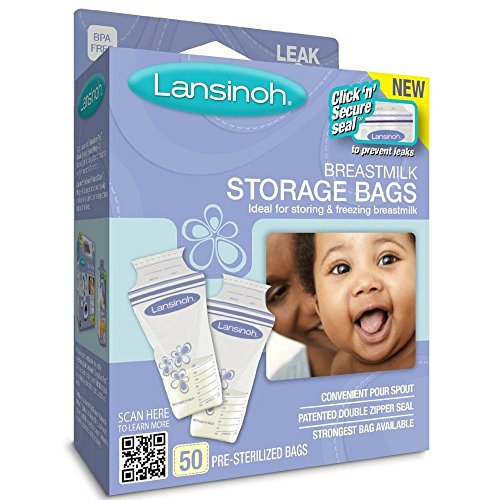 Lansinoh 150 Piece Breastmilk Storage Bags