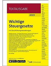 Wichtige Steuergesetze: mit Durchführungsverordnungen. (Textausgabe)