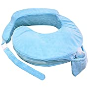 My Brest Friend Deluxe Nursing Pillow, Blue
