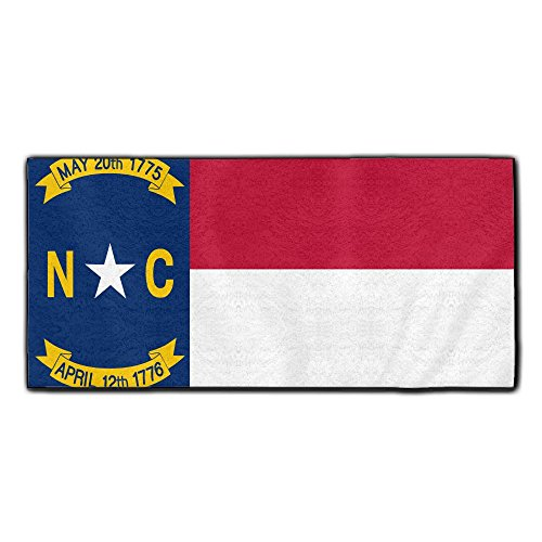 ChunLei Flag of North Carolina Washcloths Face Towel for sale  Delivered anywhere in Canada