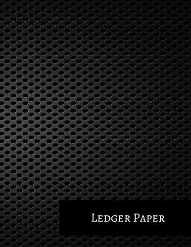Double Entry Journal (Ledger Paper: Two Columnar Format)