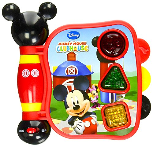 Mickey Mouse Clubhouse, Mickey's My First Learning Book Lights and Sounds (styles may - My Clubhouse