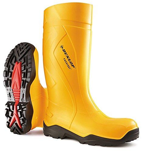 Dunlop Giallo Professionali nero Sicurezza S5 Purofort C762241 Massima Stivali qTXn6qU