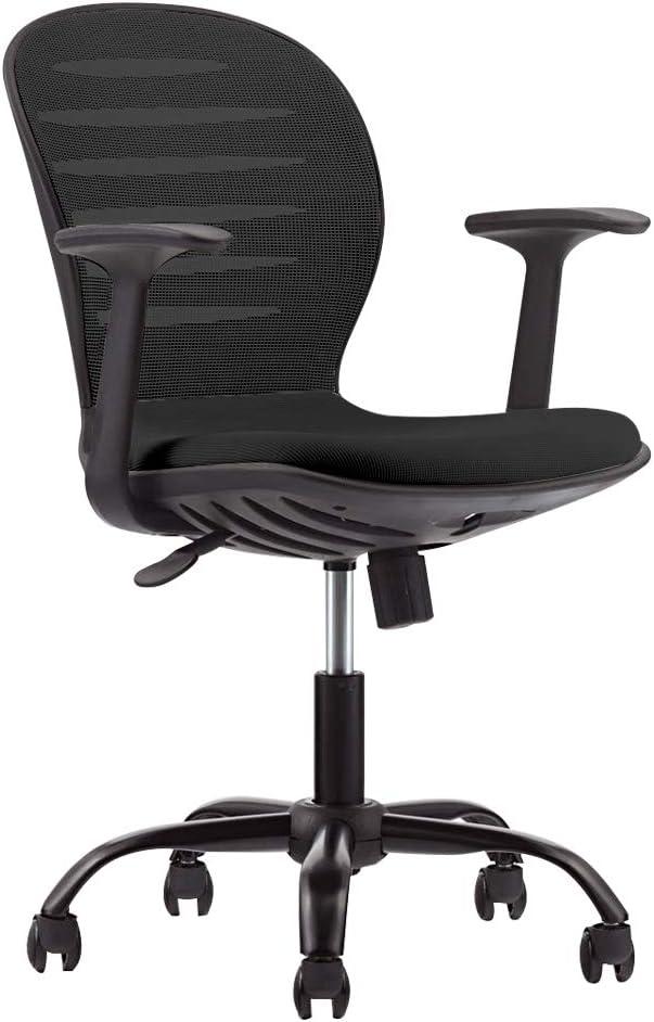 Ergonomic Task Chair Swivel Breathable Mesh Computer Chair Black