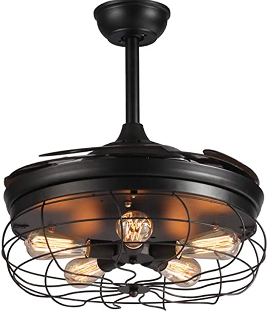 candelabro Araña, Lámpara LED para ventilador de techo, Control ...