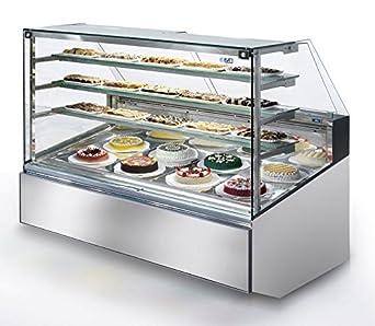 Isa Hielo vitrina Pastry Super Show H135 - 120: Amazon.es ...