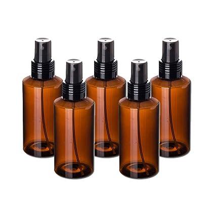 AOLVO Botella de spray para vapor (5 piezas, sin BPA, para viajes,