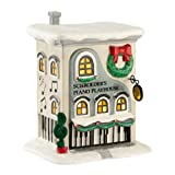 Department 56 Peanuts Village Schroeder's Piano Playhouse, 7.25 inch height