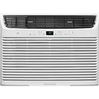 Frigidaire 15,100 Btu 115V Window-Mounted Median Air Conditioner with Temperature Sensing Remote Control, White