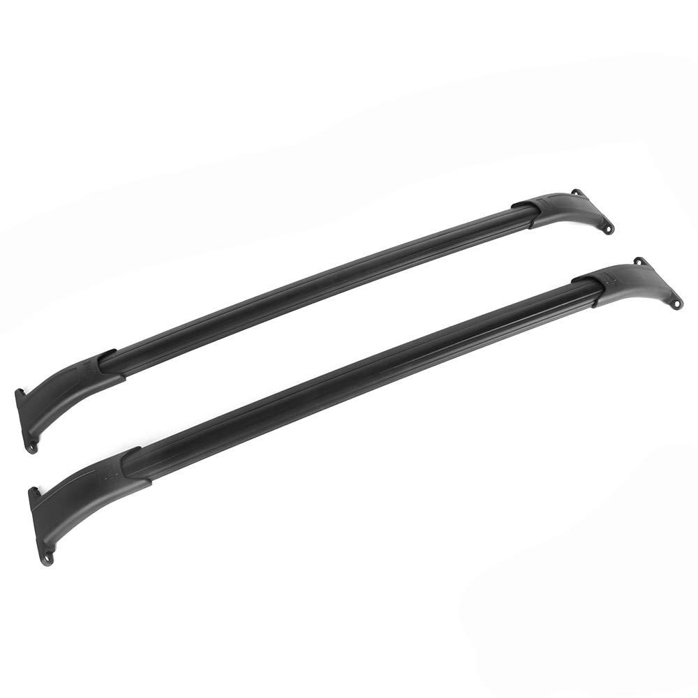 For 15-18 Cadillac Escalade ESV//Chevy Tahoe//GMC Yukon XL Pair OE Style Aluminum Roof Rail Cross Bar