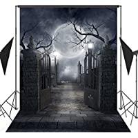 Ouyida 5X7FT Halloween theme Pictorial cloth Customized photography Backdrop Background studio prop TP17a