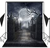 Best Prop For Halloweens - Ouyida 5X7FT Halloween theme Pictorial cloth Customized photography Review