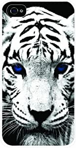 TabTM Bengal Tiger White Hard Snap on Case Cover for Apple Iphone? 4 & 4s Universal: Verizon - Sprint - At&t - Great Affordable Gift!