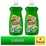 Axion Pack Axion Limón 900 Ml, 2 Piezas, color, 1 count, pack of/paquete de