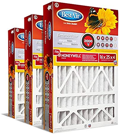 Filters Fast Compatible Replacement for Carrier 9183940 MERV 11 Air Filter 2-Pack 16 x 22 x 5 Actual Size: 15-3//8 x 21-7//8 x 5-1//4