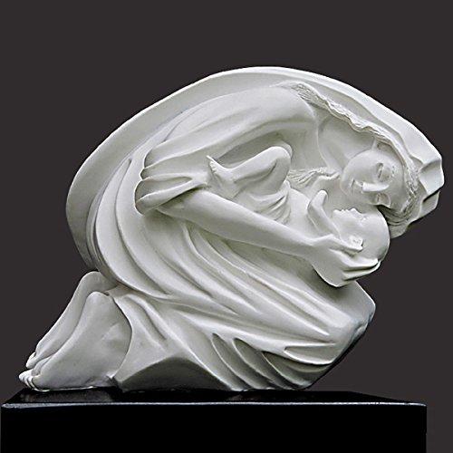 Maternal Bond Christian Sculpture (Desktop) by Timothy Schmalz by Timothy Schmalz Sculptures