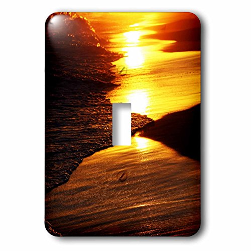 Sven Herkenrath Landscape - Sunset Mirage - Light Switch Covers - single toggle switch (lsp_233953_1)