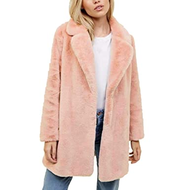 OSYARD Damen Jacke,Übergangsmantel,Mäntel, Frauen Fleece