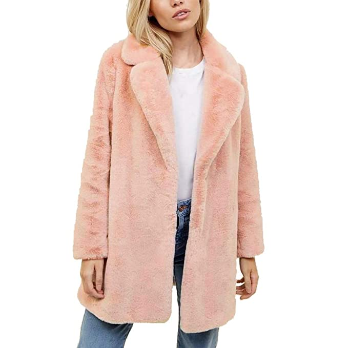 Malloom-Chaqueta Suéter Abrigo Jersey Mujer Invierno Talla Grande Hoodie Sudadera con Capucha Mujer Caliente