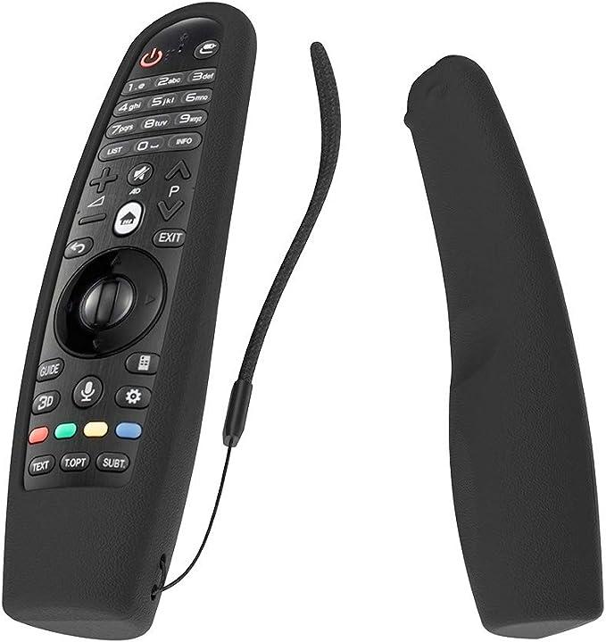SIKAI CASE Funda de Silicona Compatible con Mando a Distancia LG AN-MR20GA AN-MR19BA AN-MR18BA AN-MR600 AN-MR650 AN-MR650A Magic Remote, Goma Respetuosa con el Medio Ambiente: Amazon.es: Electrónica
