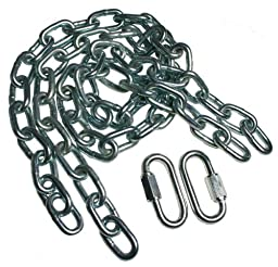 Brinks 3020-037-2T  36\'\' Safety Chains with 2 Quick Links (pair) Class III