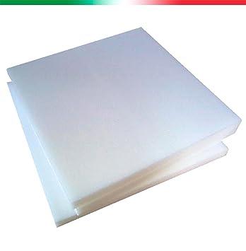Arketi-com ARK-SPNG4-RET5060 - Juego de 4 piezas de acolchado para sillas o bancos (poliuretano, forma rectangular): Amazon.es: Hogar