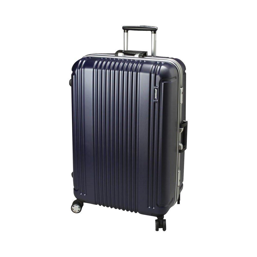 BERMAS PRESTIGE II バーマス プレステージ2 スーツケース ハードキャリー フレームタイプ 4輪 68cm 83L ネイビー 60266-NV B00NHQVCDI