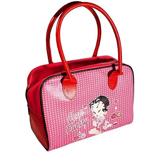 et rouge pois rose Sac Betty Boop à q8FnaSyO
