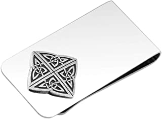 product image for DANFORTH - Celtic Knot Money Clip - 2 Inches - Gift Boxed