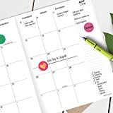 2019 Good Vibes Monthly Planner