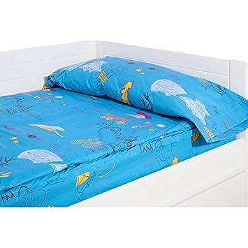 CBT - Saco nórdico ajustable con cremallera caravanas holiday azul - relleno 100 gr/m2 , cama 105 cm: Amazon.es: Hogar