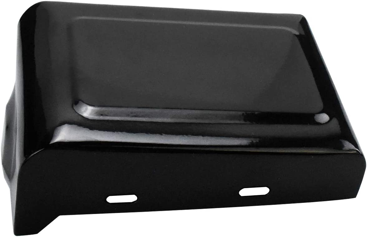 YHMTIVTU Battery Cover Fits for Harley Dyna Fat Bob Wide Glide 2012-2017,Right Side,Gloss Black