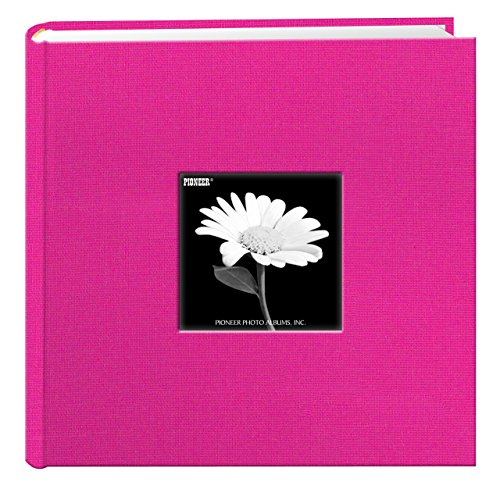 Pioneer Photo Albums Holds 200 Photos, Bright Pink, 4