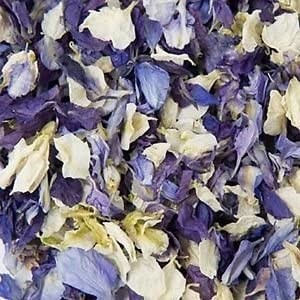 Natural Biodegradable Delphinium Wedding Confetti (All Colours All ...