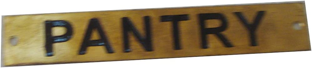 12 x 1 Inches 128 CHIEF ENGINEER`S PRIVATE Marine BRASS Door Sign