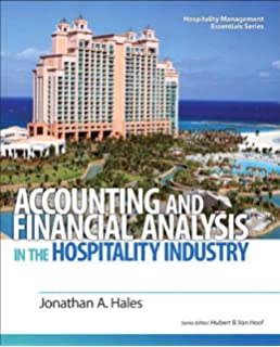 Hospitality management accounting martin g jagels 8601400069790 accounting and financial analysis in the hospitality industry hospitality management essentials series fandeluxe