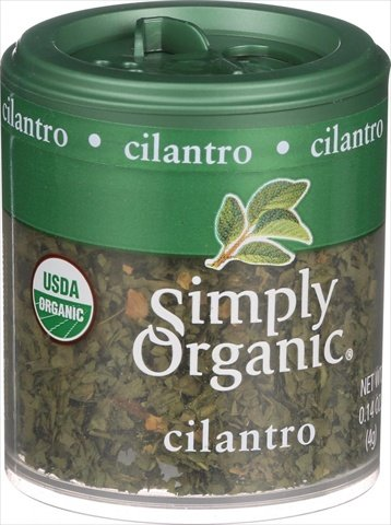 Simply Organic Mini Cilantro Leaf, 0.14 oz by Simply Organic