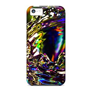 5c Scratch-proof Protection Case Cover For Iphone/ Hot Splash Of Color Phone Case