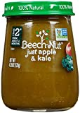 Beech-Nut Just Naturals Stage 2 Purees - Just Apple & Kale - 4.25 Oz - 10 pk