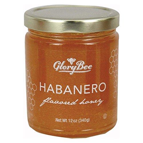 Glory Bee Honey (Glorybee, Honey, Habanero Infused, Pack of 6, Size - 12 OZ, Quantity - 1 Case)