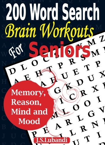Word Search Brain Workouts Seniors product image
