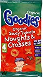 Organix Goodies Organic Saucy Tomato Noughts & Crosses 12mth+ (4x15g) - Pack of 6