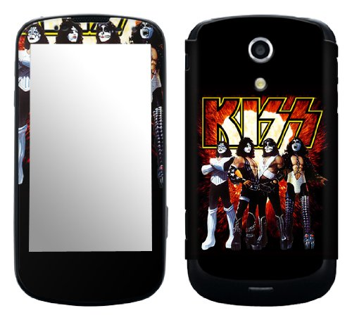 Zing Revolution MS-KISS10215 KISS - Love Gun Cell Phone Cover Skin for Samsung Epic 4G Galaxy S (SPH-D700)