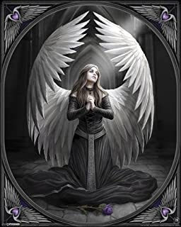 Pyramid America Anne Stokes Prayer For The Fallen Poster 16x20 Inch