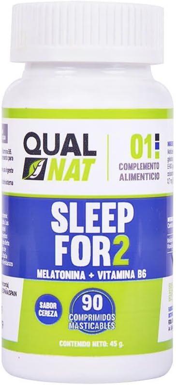 Melatonina Vitamina B6 Ayuda a Dormir 90 comprimidos masticables: Amazon.es: Salud y cuidado personal