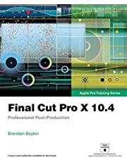 Apple Pro Training Series: Final Cut Pro X 10.4
